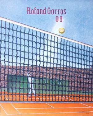Roland Garros, 2009 by Konrad Klapheck