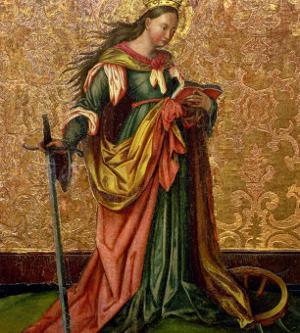 St. Catherine of Alexandria by Konrad Witz