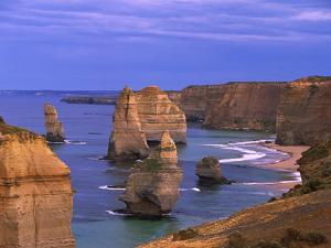 Twelve Apostles Limestone Cliffs, Port Campbell National Park, Victoria, Australia by Konrad Wothe