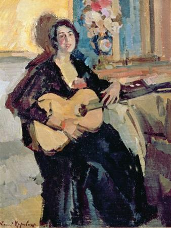 Lady with a Guitar, 1911