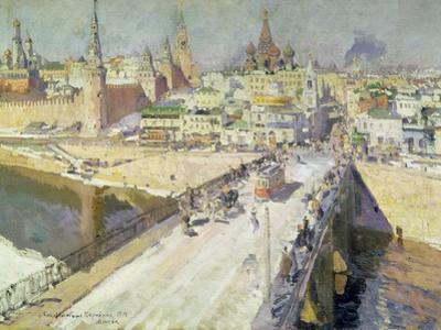 The Moskva River Bridge, 1914
