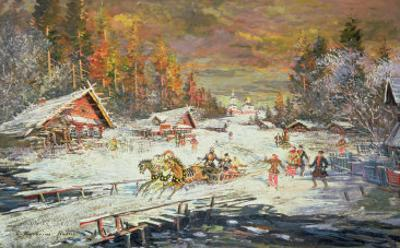 The Russian Winter, 1900-10