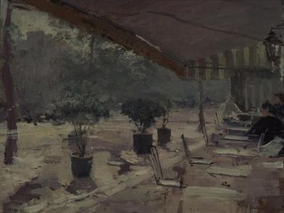 Café in Paris, 1890S