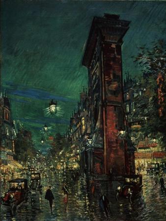 Paris, Porte Saint-Denis, 1923-1939