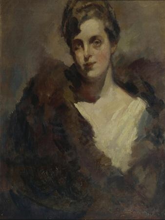 Portrait of the Opera Singer Vera Dorofeyeva