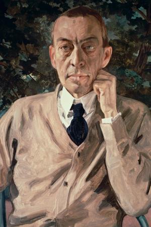 Portrait of the Composer, Sergei Vasilievich Rachmaninov (1873-1943) 1925
