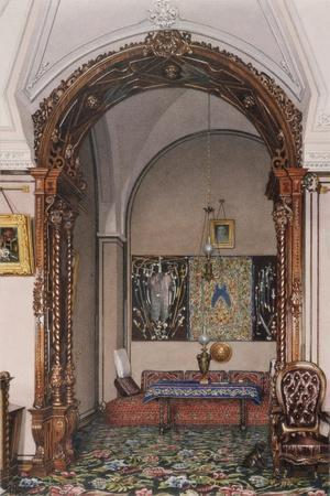 Interiors of the Winter Palace, the Alcove of the Study of Grand Prince Nicholas Nicolaievich