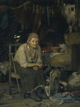 A Witch, 1879 by Konstantin Apollonovich Savitsky
