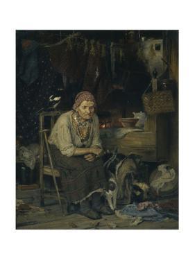 A Witch, 1879 by Konstantin Apollonovich Savitsky