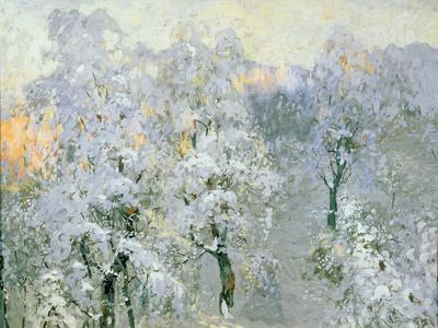Trees in Wintry Silver, 1910