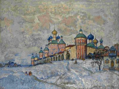 View of a Monastery, 1933
