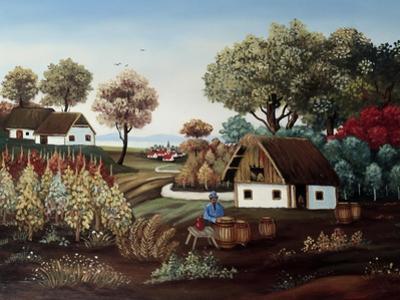 The Vineyard by Konstantin Rodko