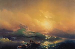 The Wave by Konstantinovich Ivan Aiwassowskij