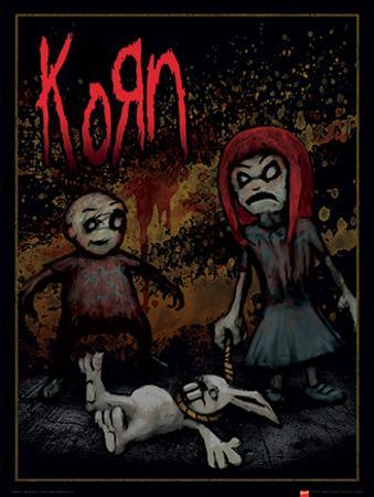 Korn - Dead Bunny Music Poster