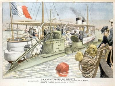 Korrigan, French Navy Submarine, 1906