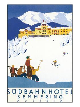 Sudbahn Hotel, Semmering, Austria by Kosel Hermann