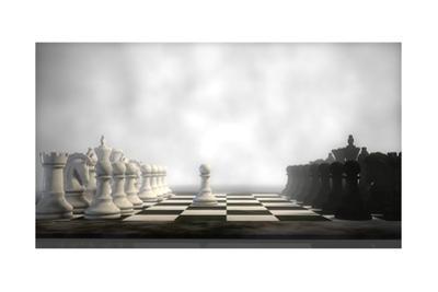 Chess Board In Fog by Kostyantyn Ivanyshen