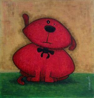 Red Dog by Kourosh