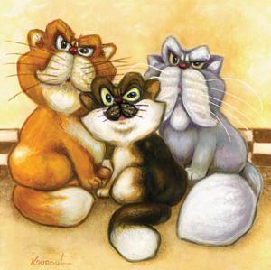 Three Generations by Kourosh