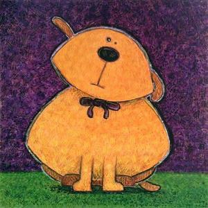 Yellow Dog by Kourosh