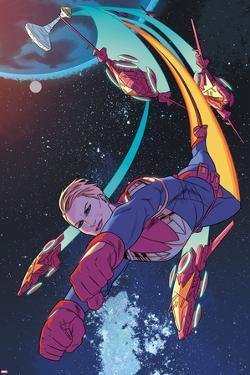 Captain Marvel No. 4 Panel by Kris Anka