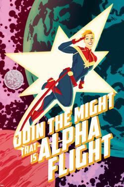 Captain Marvel No. 5 Cover Art by Kris Anka