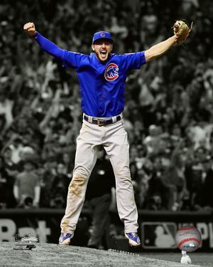 Kris Bryant celebrates the final out of Game 7 of the 2016 World Series Spotlight