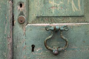 Close Up of Rusty Old Door in Dubrovnik, Croatia by Krista Rossow