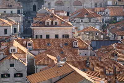 Dubrovnik's Old Town on the Dalmatian Coast in Croatia
