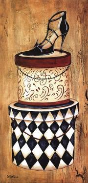 Vintage Hat Box II by Krista Sewell