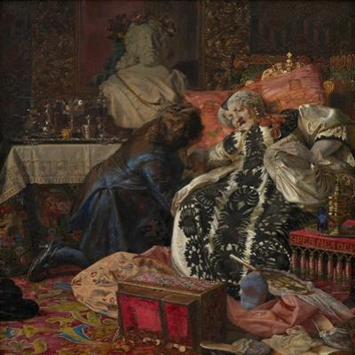 The Death of Queen Sophie Amalie, 1882