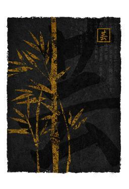 Black Gold Bamboo 2 by Kristin Emery