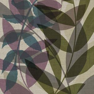 Purple Green Leaves by Kristin Emery