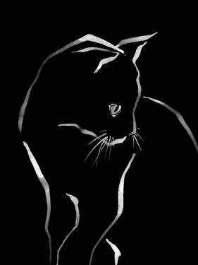 Feline Friends - Peek by Kristine Hegre