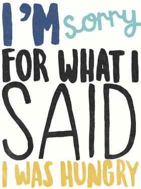 I Was Hungry by Kristine Hegre