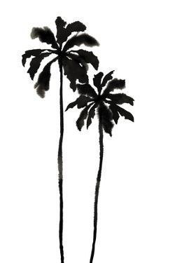 Palm Ink Duo by Kristine Hegre
