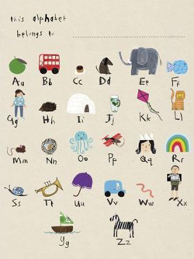 Phonic Alphabet by Kristine Hegre