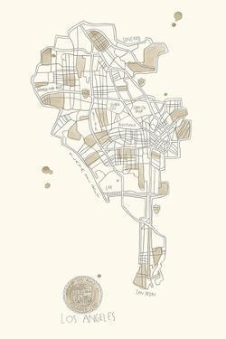 Urban Sprawl - LA by Kristine Hegre