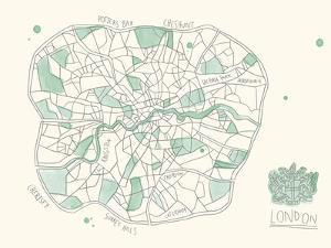 Urban Sprawl - London by Kristine Hegre
