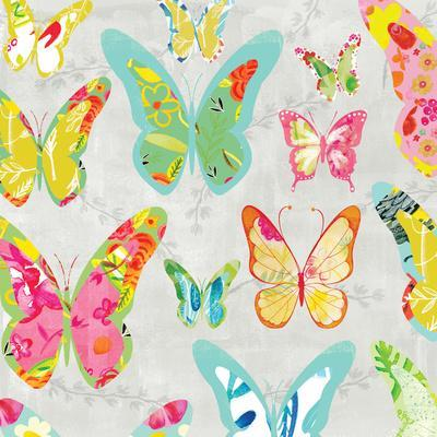 Butterflies Gray
