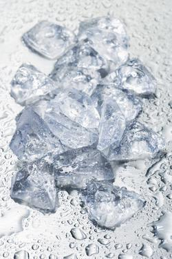 Pieces of Crushed Ice Cubes by Kröger and Gross