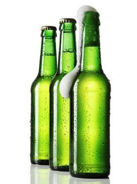 Three Bottles of Beer, One Opened by Kröger & Gross