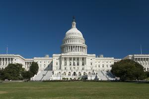 The Us Capitol by kropic