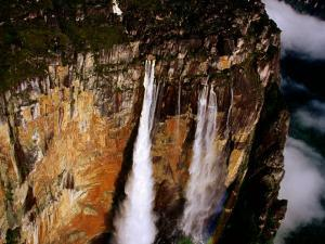Angel Falls, Bolivar, Venezuela by Krzysztof Dydynski