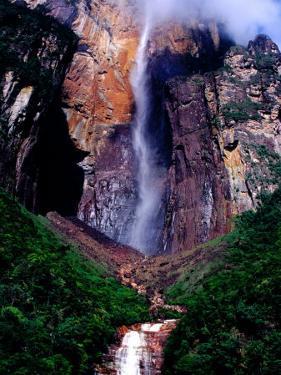 Angel Falls Seen from Mirador Laime Lookout, Angel Falls, Venezuela by Krzysztof Dydynski