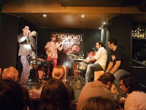 Flamenco Jam Session at Cardamomo, Madrid, Comunidad de Madrid, Spain by Krzysztof Dydynski