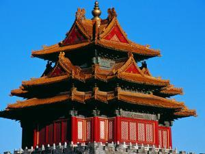 Northwestern Corner Watchtower of the Forbidden City by Krzysztof Dydynski