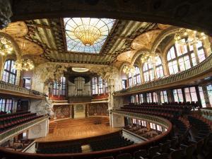 Palau de la Musica Catalana, Barcelona, Catalonia, Spain by Krzysztof Dydynski