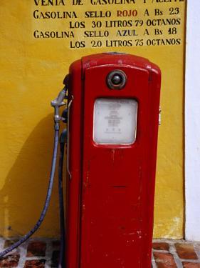 Petrol Station in Theme Park La Venezuela De Antier by Krzysztof Dydynski