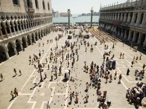 Piazzetta San Marco from Terrace of Basilica Di San Marco by Krzysztof Dydynski